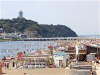 片瀬東浜海水浴場・写真