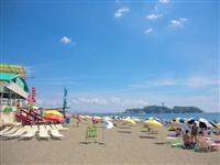 片瀬西浜・鵠沼海水浴場・写真
