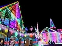 東京ドイツ村 Winter Illumination 2016-2017「大冒険〜★Doki★Doki★Smile〜」・写真