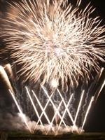 二市一ヶ村 日橋川 川の祭典 花火大会・写真
