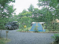 いちのせき厳美オートキャンプ場・写真