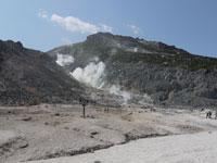 硫黄山・写真