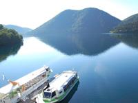 然別湖観光遊覧船・写真