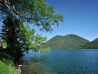 然別湖・写真