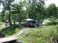 道民の森神居尻地区林間キャンプ場