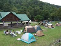 道民の森一番川地区自然体験キャンプ場