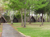 池田町十勝まきばの家キャンプ場・写真