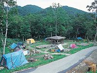 知床国立公園羅臼温泉野営場・写真