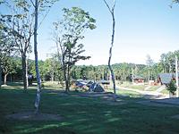 蘭越町ふるさとの丘リンリン公園キャンプ場・写真