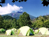 羊蹄山自然公園真狩キャンプ場・写真