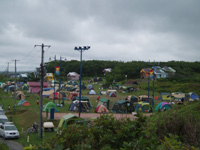 日の出岬キャンプ場・写真