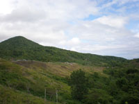 有珠山西山火口展望台