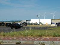 とままえ夕陽ヶ丘未来港公園・写真