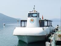 支笏湖観光船・写真