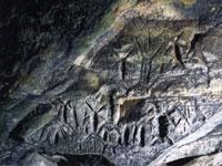 フゴッペ洞窟・写真