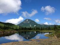 羅臼湖登山道・写真