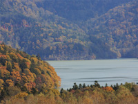 糠平湖・写真