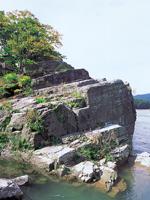 紅簾石片岩・写真