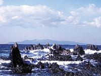 根本海岸・屏風岩・写真