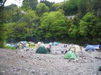 川井キャンプ場・写真