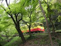高尾山ケーブルカー・写真