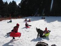 雪・そり遊び広場