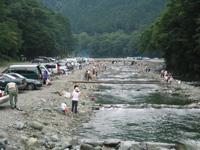 早戸川国際マス釣場・写真
