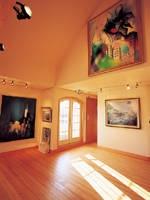 真鶴の丘絵画館 コンサートホール・写真