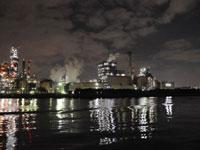 工場夜景探検ツアー
