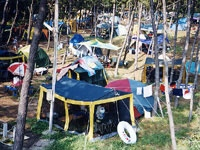 角田浜キャンプ場・写真