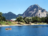 白馬山麓国民休養地高浪の池キャンプ場・写真