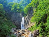 苗名滝・写真
