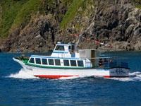 粟島観光遊覧船・写真