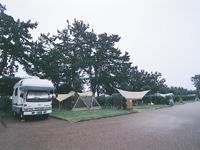 朝日ヒスイ海岸オートキャンプ場・写真
