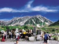 立山玉殿の湧水・写真