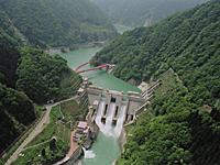 宇奈月ダム・写真