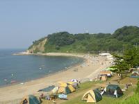 袖ヶ浜キャンプ場・写真