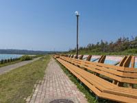 世界一長いベンチ・写真