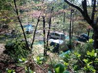 石動山テント村・写真
