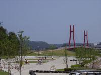 北潟湖畔公園・サイクリングパーク・写真