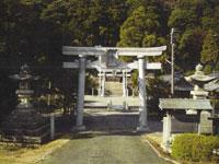 宇波西神社・写真