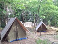 愛宕山こどもの国キャンプ場・写真