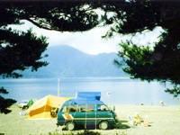 本栖レークサイドキャンプ場・写真
