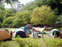 南アルプス邑野鳥公園(キャンプ場)・写真