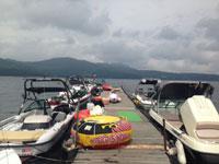 山中湖ヨットハーバー・写真