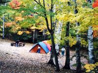 笛吹小屋キャンプ場・写真