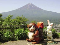 天上山公園カチカチ山ロープウェイ・写真