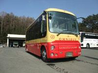 河口湖周遊バス オムニバス・レトロバス・写真