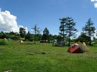 諏訪市霧ヶ峰キャンプ場