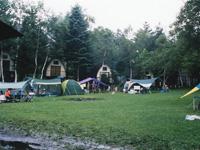 蓼科白林台キャンプ場